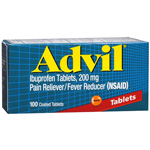 Advil Advanced Medicine for Pain, 200mg, Tablets, 100 ea