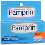 Pamprin Multi-Symptom Menstrual Relief, Maximum Strength, 40 ea