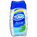 Tums Antacid/Calcium Supplement, Peppermint, 150 ea