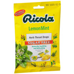 Ricola Herb Throat Drops, Sugar Free Lemon-Mint, 19 ea