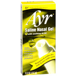 Ayr Saline Nasal Gel with Soothing Aloe, 0.5 oz