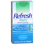 Refresh Tears Lubricant Eye Drops, .5 fl oz