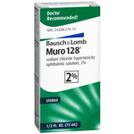 Muro 128 Sterile Ophthalmic 2% Solution, .5 fl oz