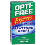 Opti-Free Express Rewetting Drops, .33 fl oz