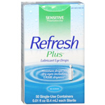 Refresh Plus Lubricant Eye Drops, Single Use, 50 ea