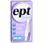 EPT One Step Pregnancy Test, 3 ea