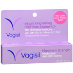 Vagisil Anti-Itch Creme, Maximum Strength, 1 oz