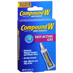 Compound W Wart Remover Gel, .25 oz