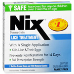 Nix Cream Rinse Lice Treatment, Multi Pack, 2 bottles