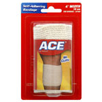 ACE Self-Adhering Elastic Bandage (4 inch), 1 ea