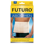 FUTURO Surgical Binder and Abdominal Support, Medium, 1 ea