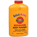 Gold Bond Triple Action Medicated Body Powder, 10 oz