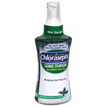 Chloraseptic Sore Throat Spray, Menthol, 6 fl oz
