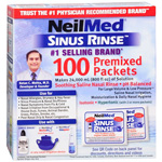 NeilMed Sinus Rinse Regular Refill Packets, 100 ea