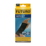 FUTURO Splint Wrist Brace, Black, Medium, 1 ea