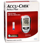 Accu-Chek Aviva Diabetes Monitoring Kit, 1 kit