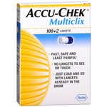 Accu-Chek Multiclix 100+2 Lancets, 102 ea