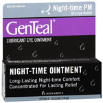 GenTeal PM Lubricant Eye Ointment, .12 fl oz