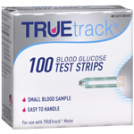 TrueTrack Smart System Blood Glucose Test Strips, 100 ea