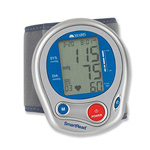 Mabis Deluxe Automatic Digital Blood Pressure Monitor Wrist, 1 ea