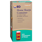 BD Home Sharps Container, 1 ea