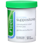 Fleet Glycerin Suppositories, 50 ea