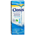 Oasis Moisturizing Mouth Spray, Mild Mint, 1 fl oz