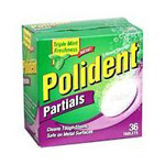 Polident for Partials, 5 Minute Cleanser, 36 ea