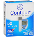 Bayer Contour Test Strips, 50 ea