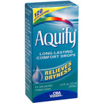 AQuify Long-Lasting Comfort Drops, Relieves Dryness, .33 fl oz