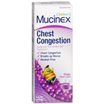 Mucinex Kids Expectorant, Liquid Grape, 4 fl oz