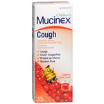 Mucinex Kids Cough, Expectorant and Suppressant, Liquid Cherry, 4 fl oz