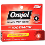 Orajel Maximum Strength Gel Oral Pain Reliever, .42 oz