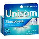 Unisom SleepGels, Maximum Strength Nighttime Sleep Aid, Softgels, 32 ea