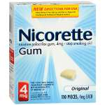 Nicorette Nicotine Gum 4mg Starter Kit, Original, 110 ea