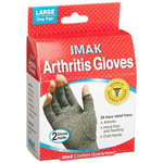 IMAK Arthritis Gloves, Large, 1 Pair