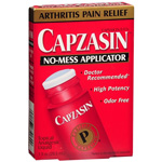 Capzasin Arthritis Pain Relief, No Mess Applicator, 1 fl oz