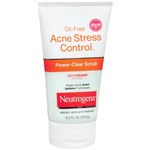Neutrogena Oil-Free Acne Stress Control, Power-Clear Scrub, 4.2 fl oz