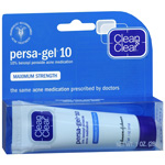 Clean & Clear Persa-Gel 10, Maximum Strength, 1 oz