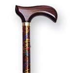 Mountain Properties Folding Travel Cane Paisley, 1 ea