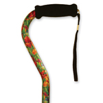 Mountain Properties Patterned Offset Cane-Summer Garden, 1 ea