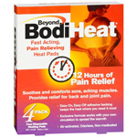 Beyond BodiHeat Pain Relieving Heat Pad, Back, 4 ea