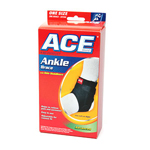 Ace Ankle Brace with Side Stabilizers, One Size