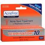 University Medical AcneFree Terminator 10 Time-Released 10% Benzoyl Peroxide Medicated Spot Treatment, 1 fl oz