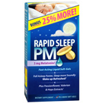 Applied Nutrition Rapid Sleep PM Liquid Soft-Gels, 60 ea