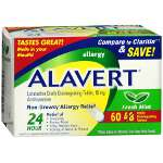 Alavert Orally Disintegrating Tablets 48 + 12 Bonus Pack, 60 ea