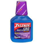 Tylenol Cold MultiSymptom Severe Daytime Liquid, Cool Burst, 8 fl oz