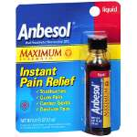 Anbesol Maximum Strength Liquid, .41 fl oz