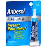 Anbesol Regular Strength Gel, Cool Mint, .33 oz
