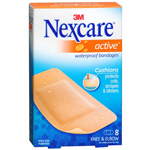 Nexcare Active Knee/Elbow, 8 ea